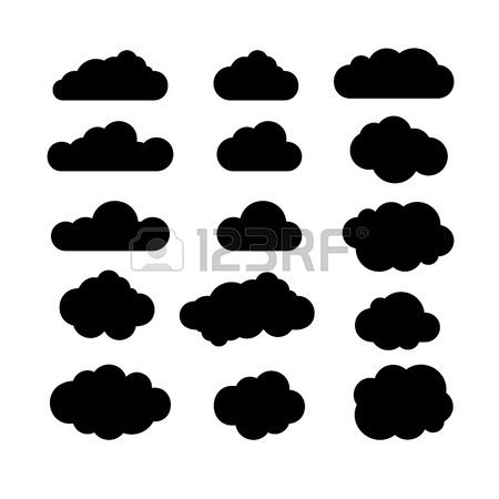 40,932 Cloud Silhouette Stock Illustrations, Cliparts And Royalty.