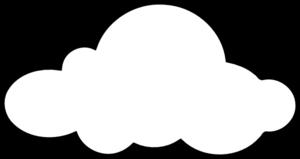 White Cloud Clipart.