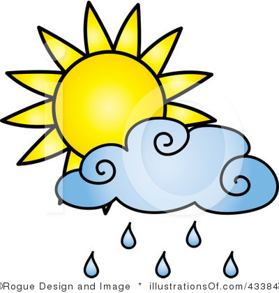 cloudy day and raining clipart #19