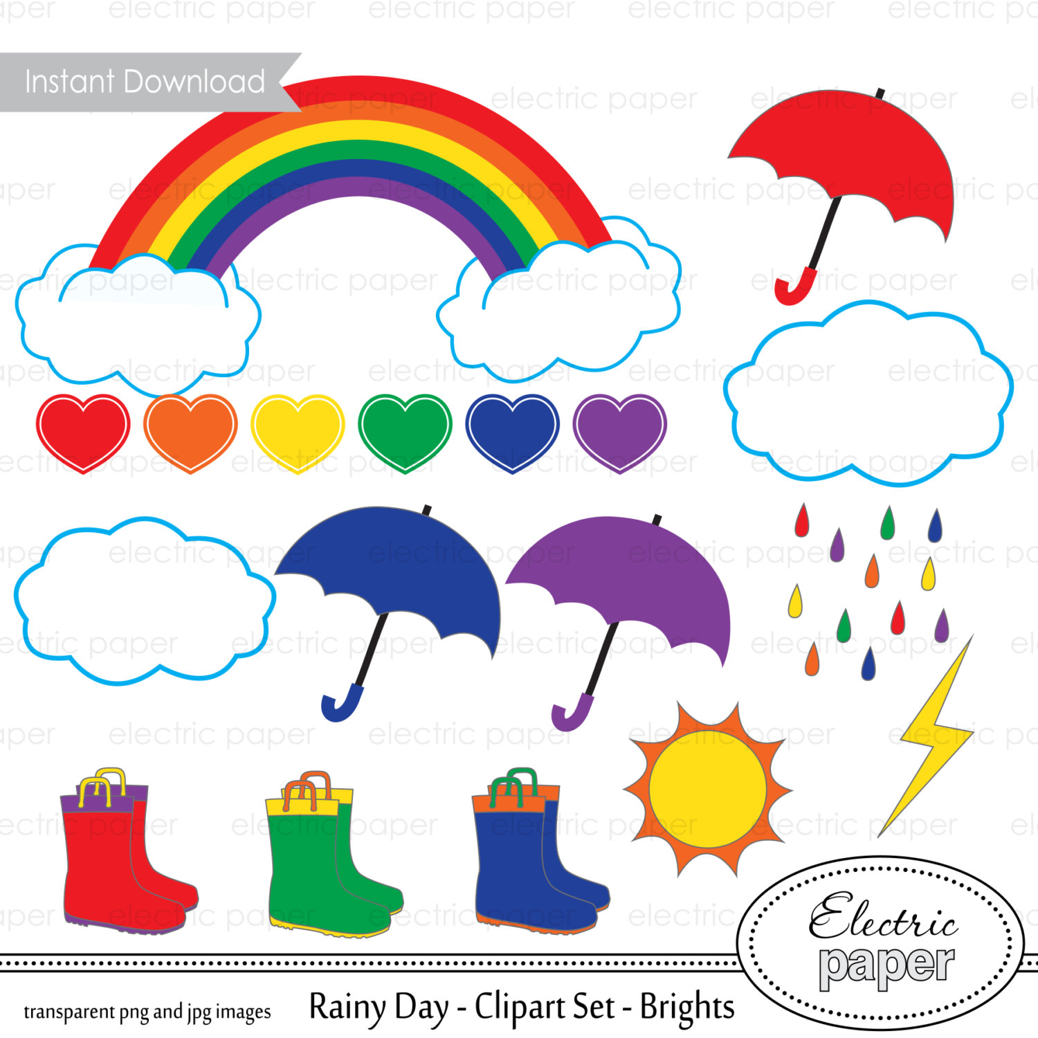 Cloudy Day And Raining Clipart Clipground