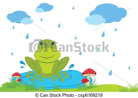 Raining Day Clipart.