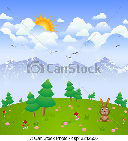 Cloudy day clipart - Clipground