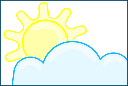 Sky and cloud clipart - Clipground
