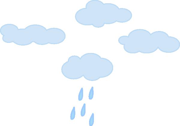 Rainy Cloudy Sky 2 Clip Art at Clker.com.