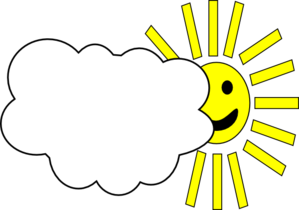Cloudy with a clipart - Clipground