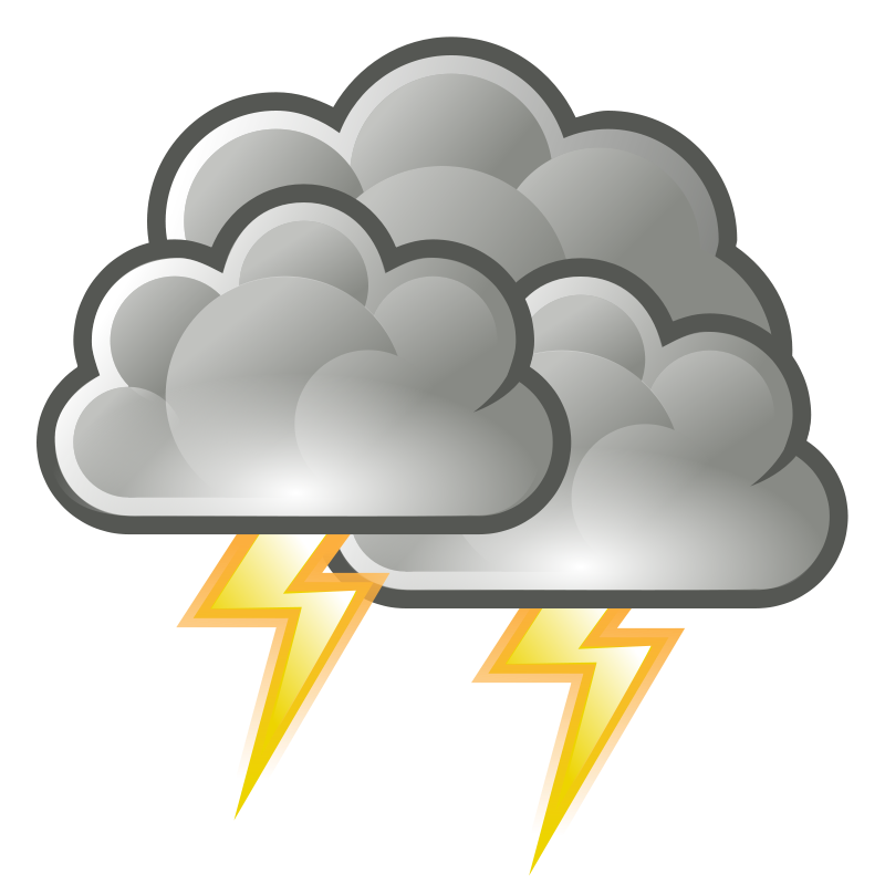 Storm cloudy clipart.