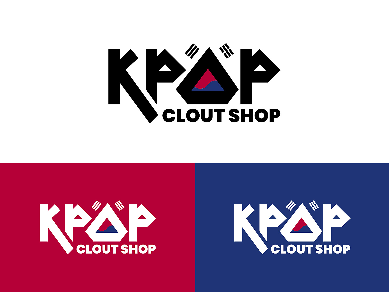 Kpop Clout Shop Logo Design by Deziner Guys on Dribbble.