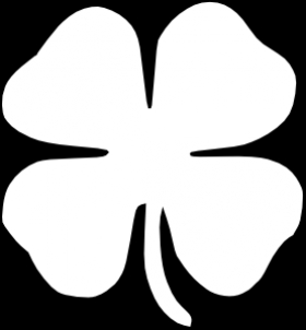 Clover Clip Art Black And White Free.