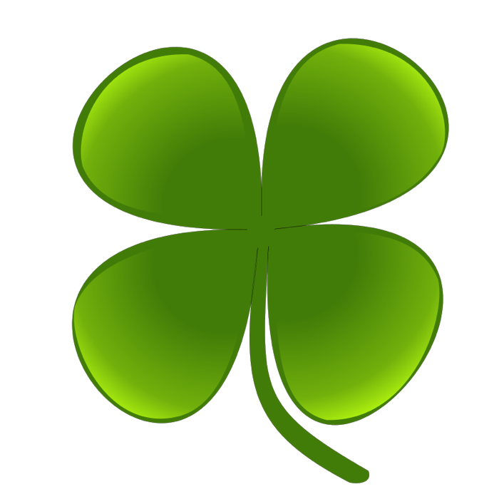 Clover leaf clipart.