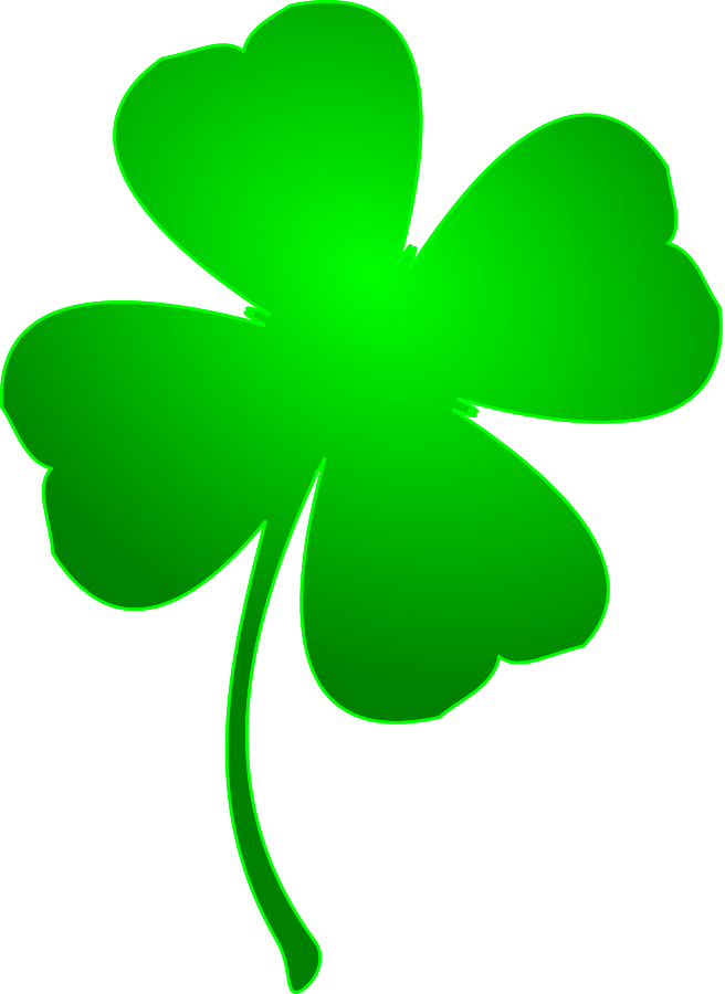 4 leaf clover leaf clover clovers and four leaf on clip art.