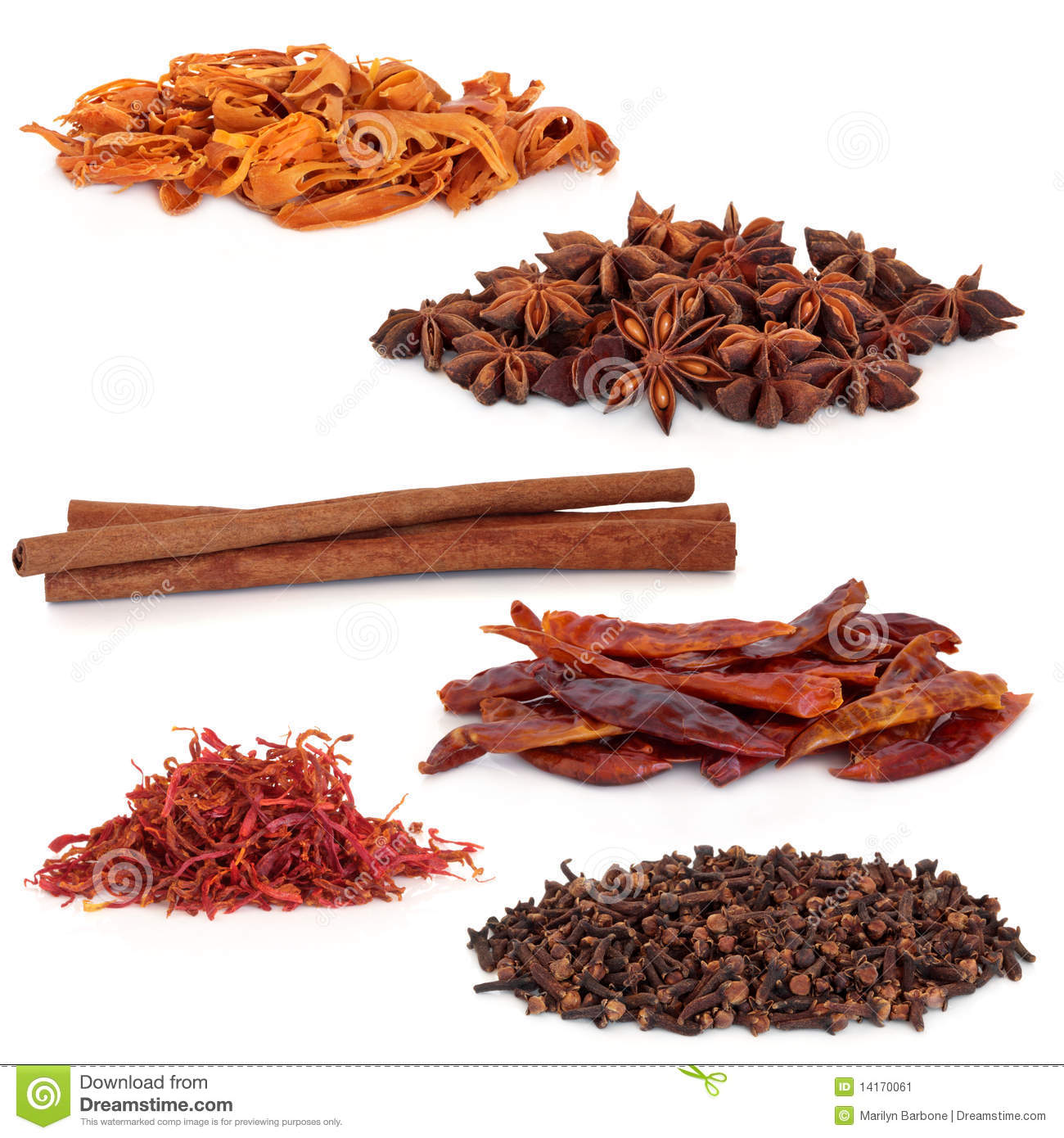 Clip Art Of Tea And Spices Clipart.