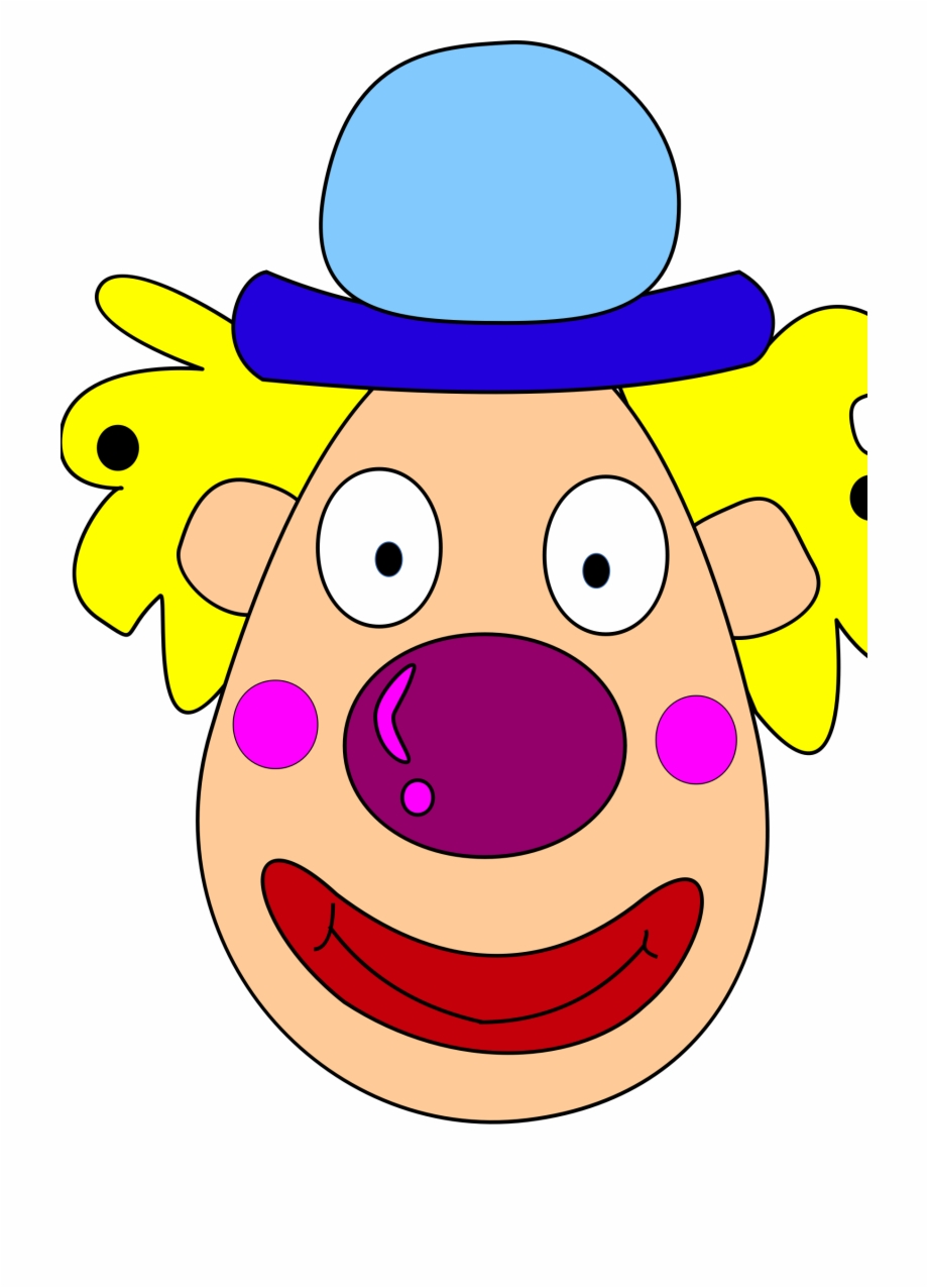 Clown Clipart Clown Head.