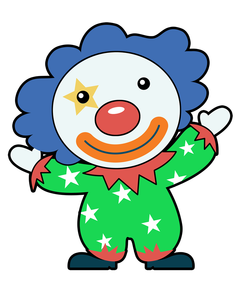 Free to Use & Public Domain Clown Clip Art.