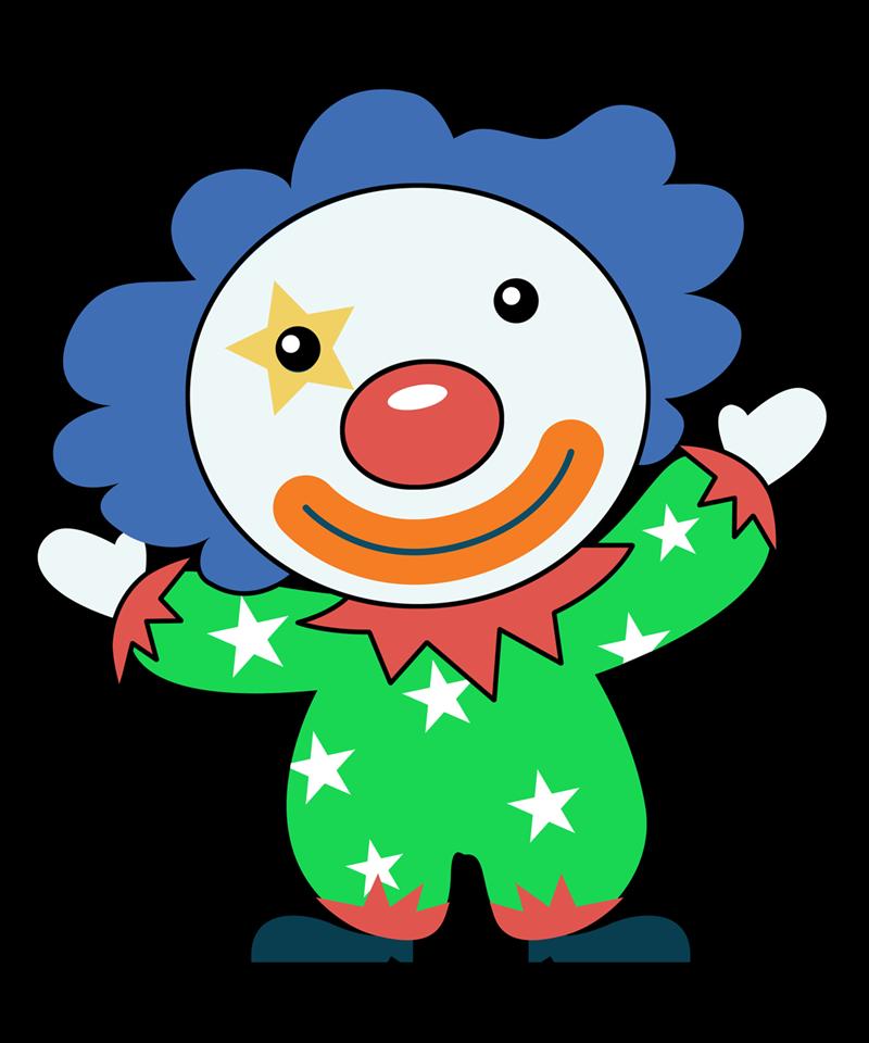 Free to Use & Public Domain Clown Clip Art.