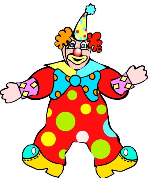 Clown Clip Art.