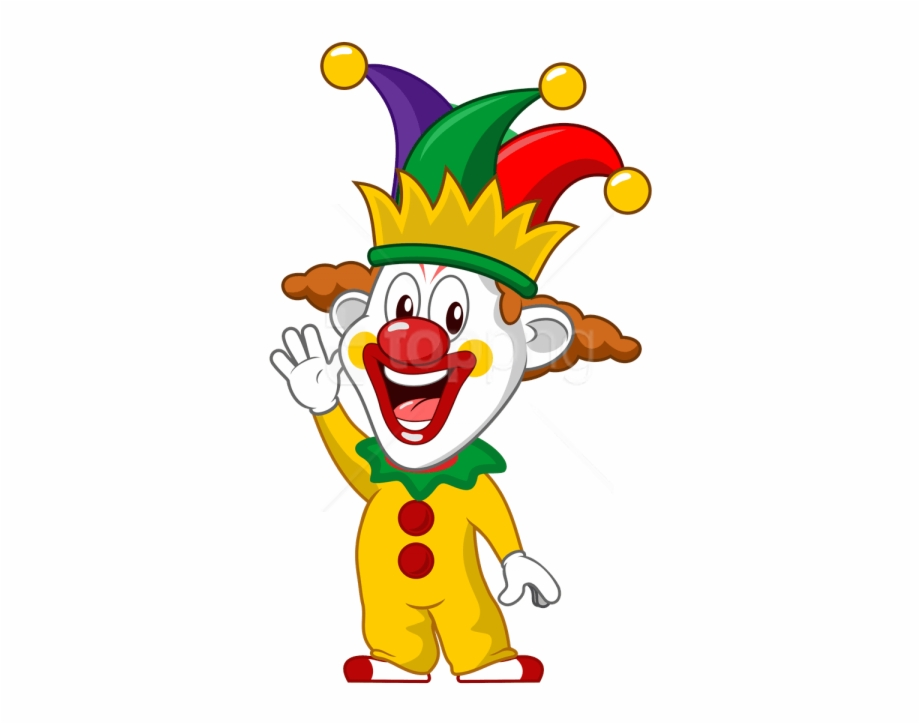 Clown Clipart Png Transparent Background.