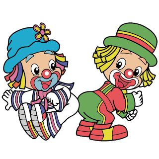 Detská Clown Cartoon Images.
