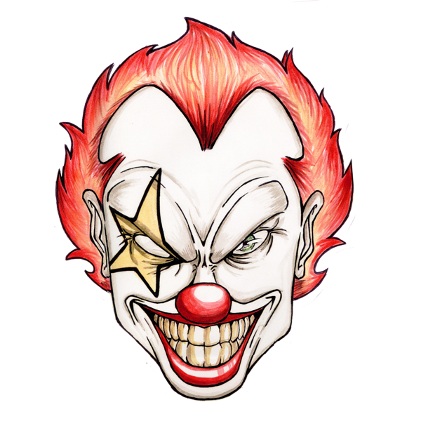 clown clipart scary 20 free Cliparts | Download images on ...