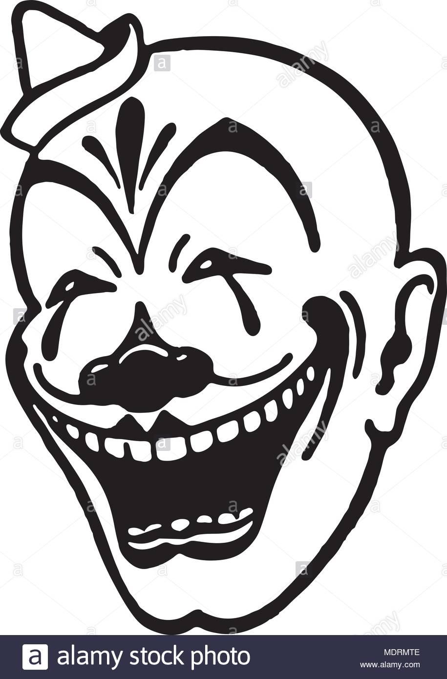 Clown Face.