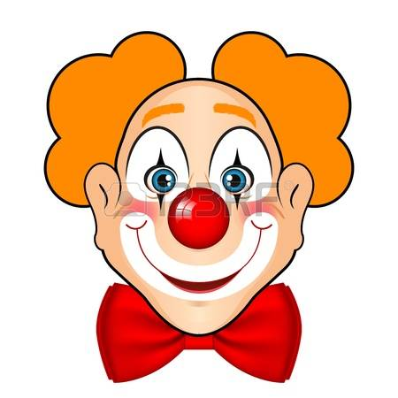 63+ Clown Face Clipart.