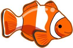 Clown Fish Clipart.