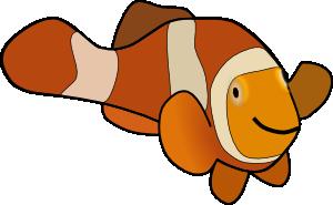 Clown Fish Clip Art at Clker.com.