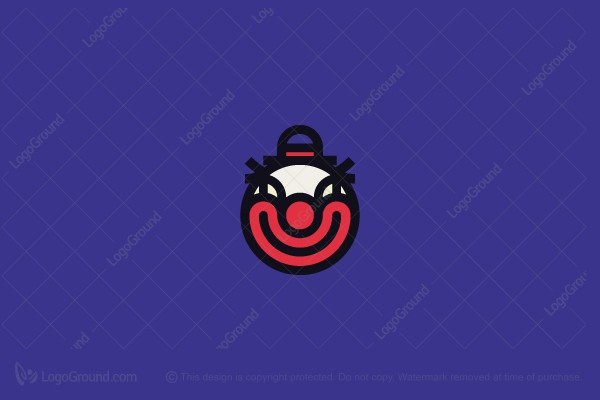Exclusive Logo 169158, Clown Logo.