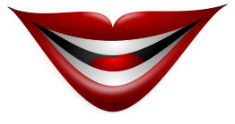 Joker Smile clip arts, free clipart.