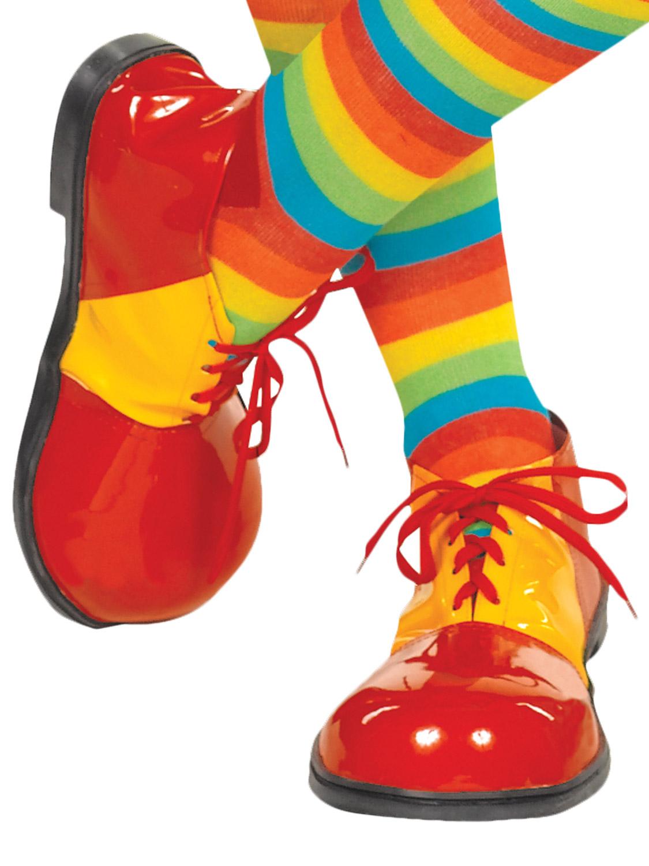 Adults Clown Shoes.