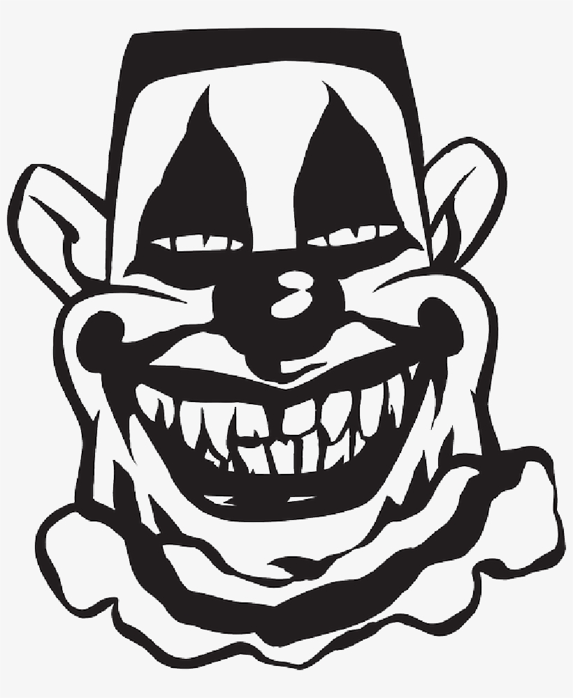 Scary Clown Silhouette At Getdrawings.