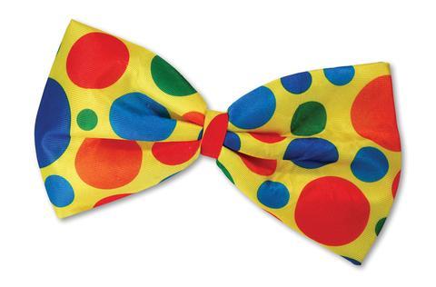 Clown Bow Tie Clipart.