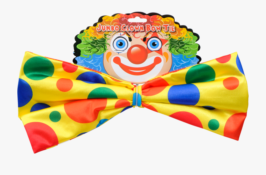 Clown Bow Tie Costume Accessory Clipart , Png Download.
