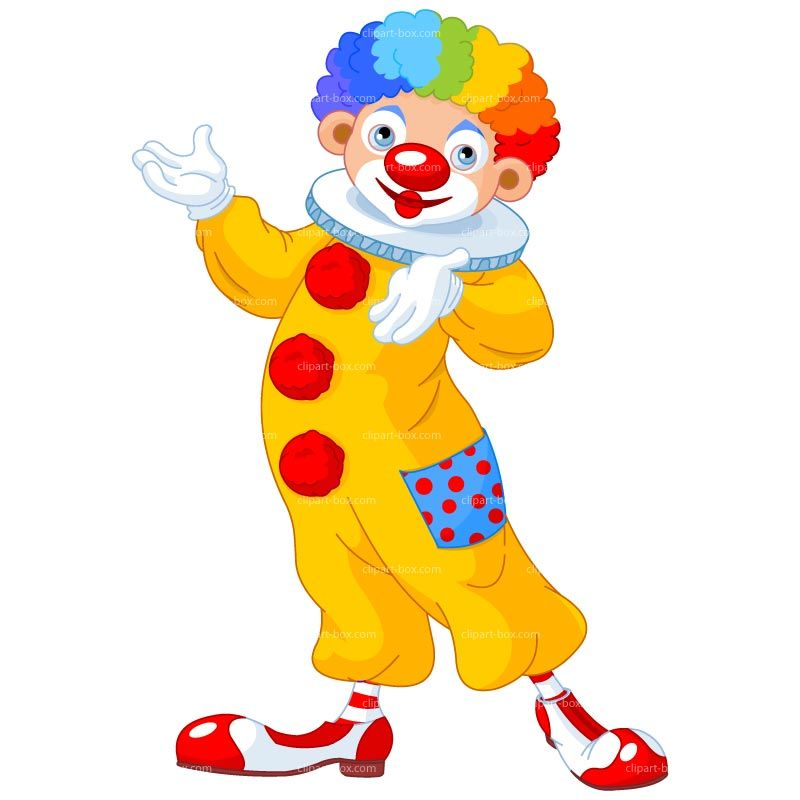 Clown with balloon clipart kid.