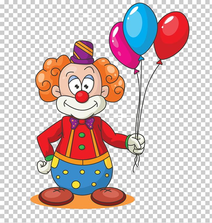 Learn ABCD for Kids Free Clown Cartoon Balloon, Clown.