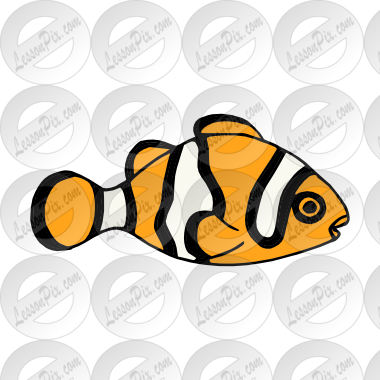 Clownfish Picture for Classroom / Therapy Use.