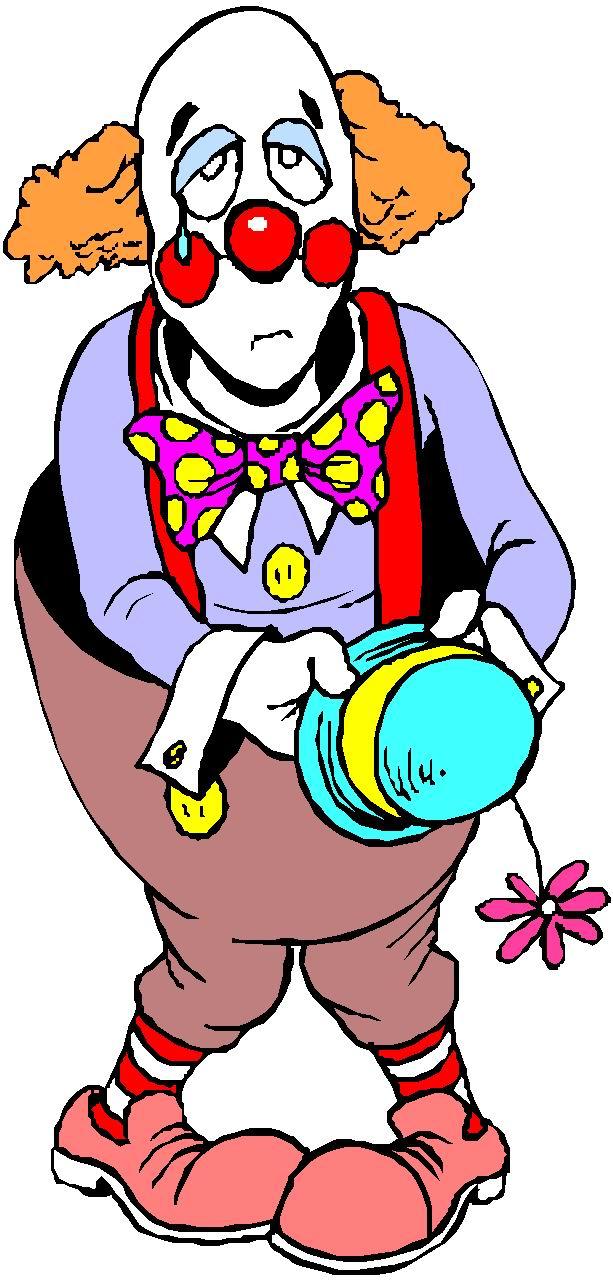 Clowns Clip Art.