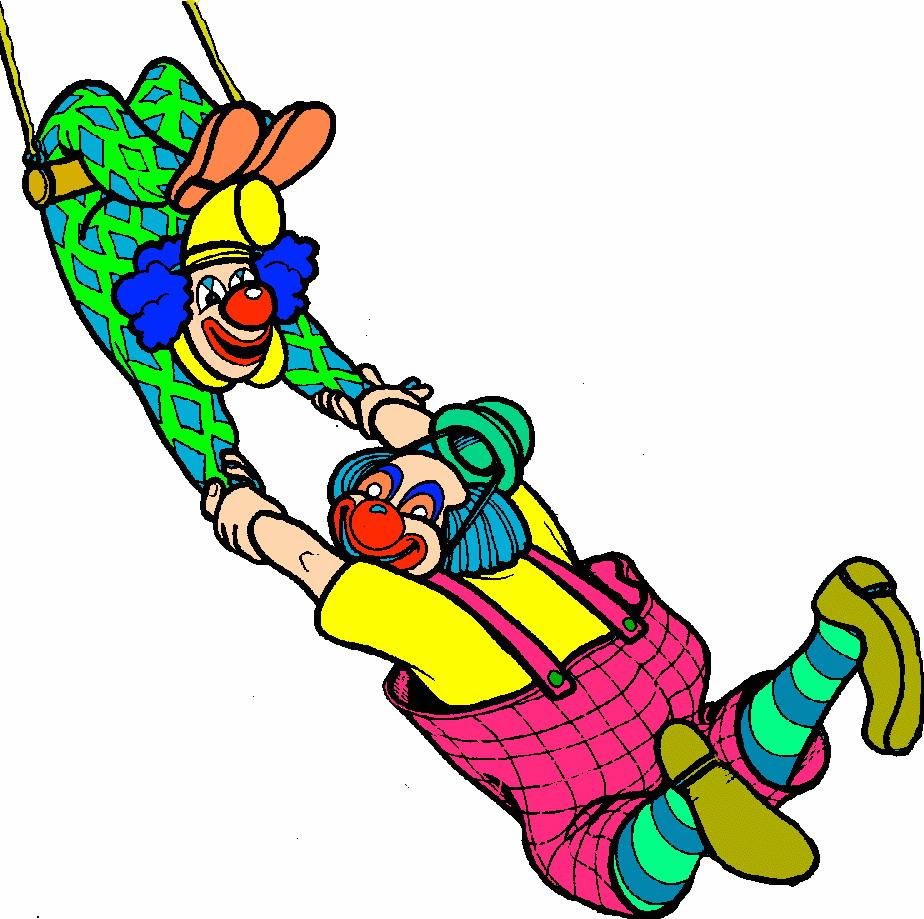 Clowns clip art 5.