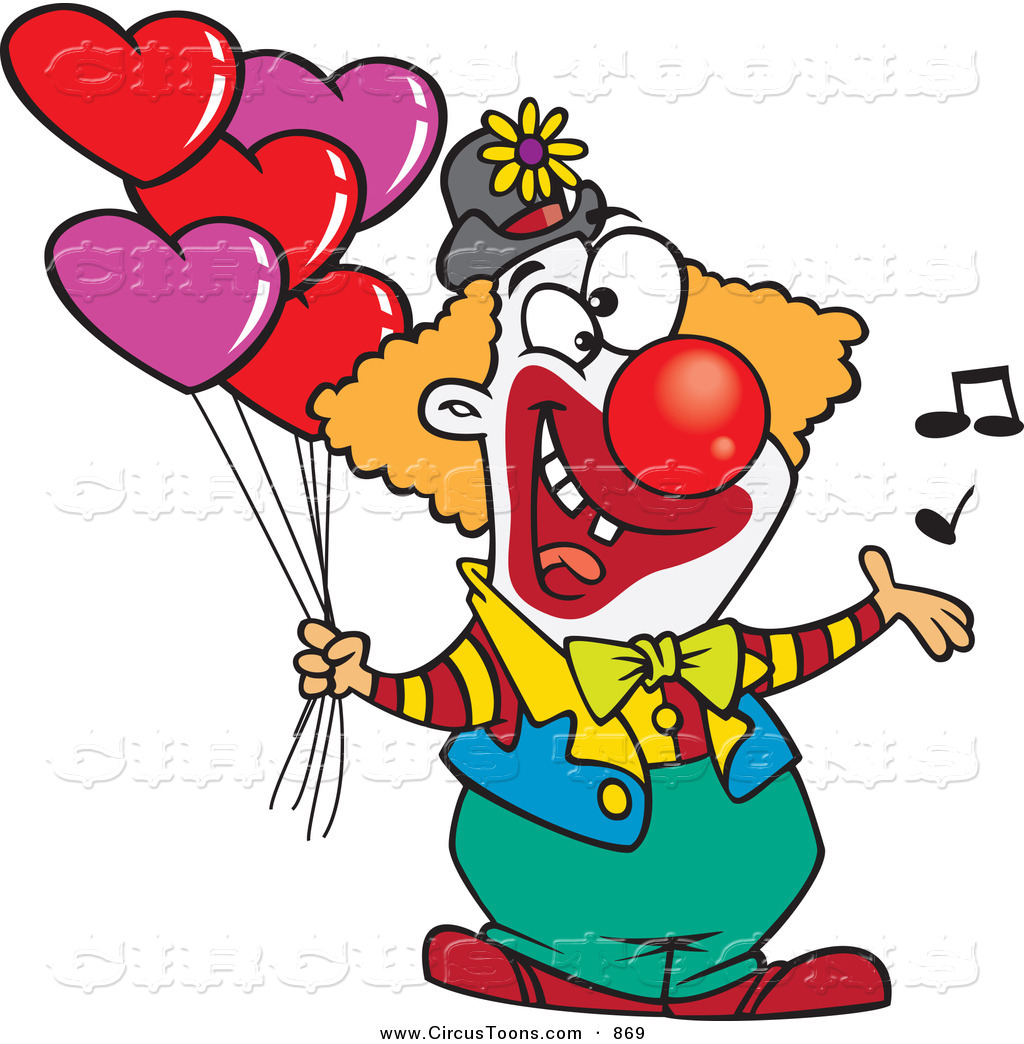 Clown Clipart.