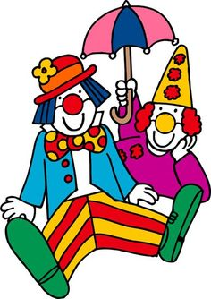 Clowns clipart.