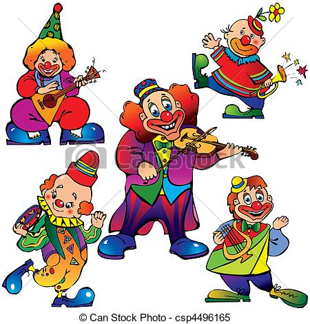 Clown Illustrations and Clipart. 13,751 Clown royalty free.