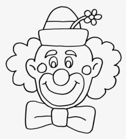 Clown, Circus, Fun, Coloring Book.