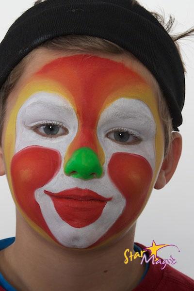 Clownschminke Clipart Clipground