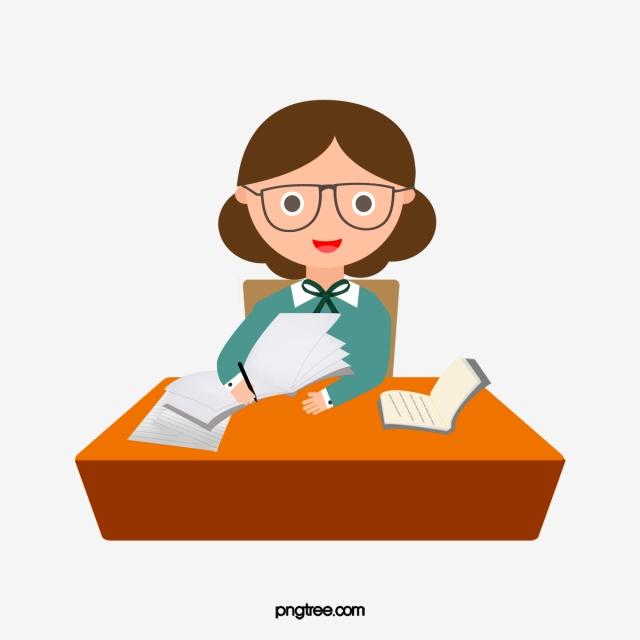 Desk Clerk, Clerical Clerk, Clerk, Secretarial PNG.