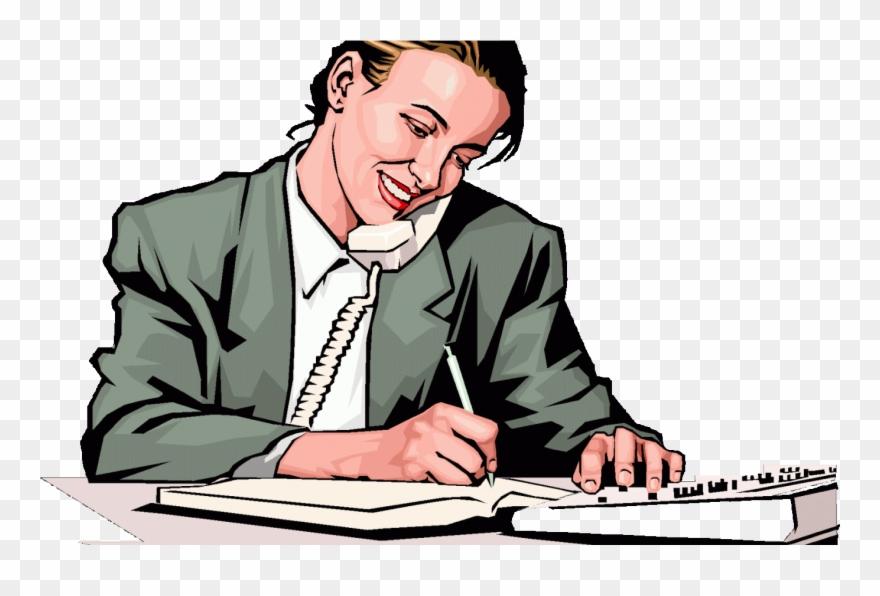 Office Management Clipart Office Clerk.