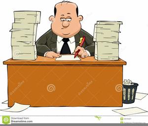 Clerk Clipart.