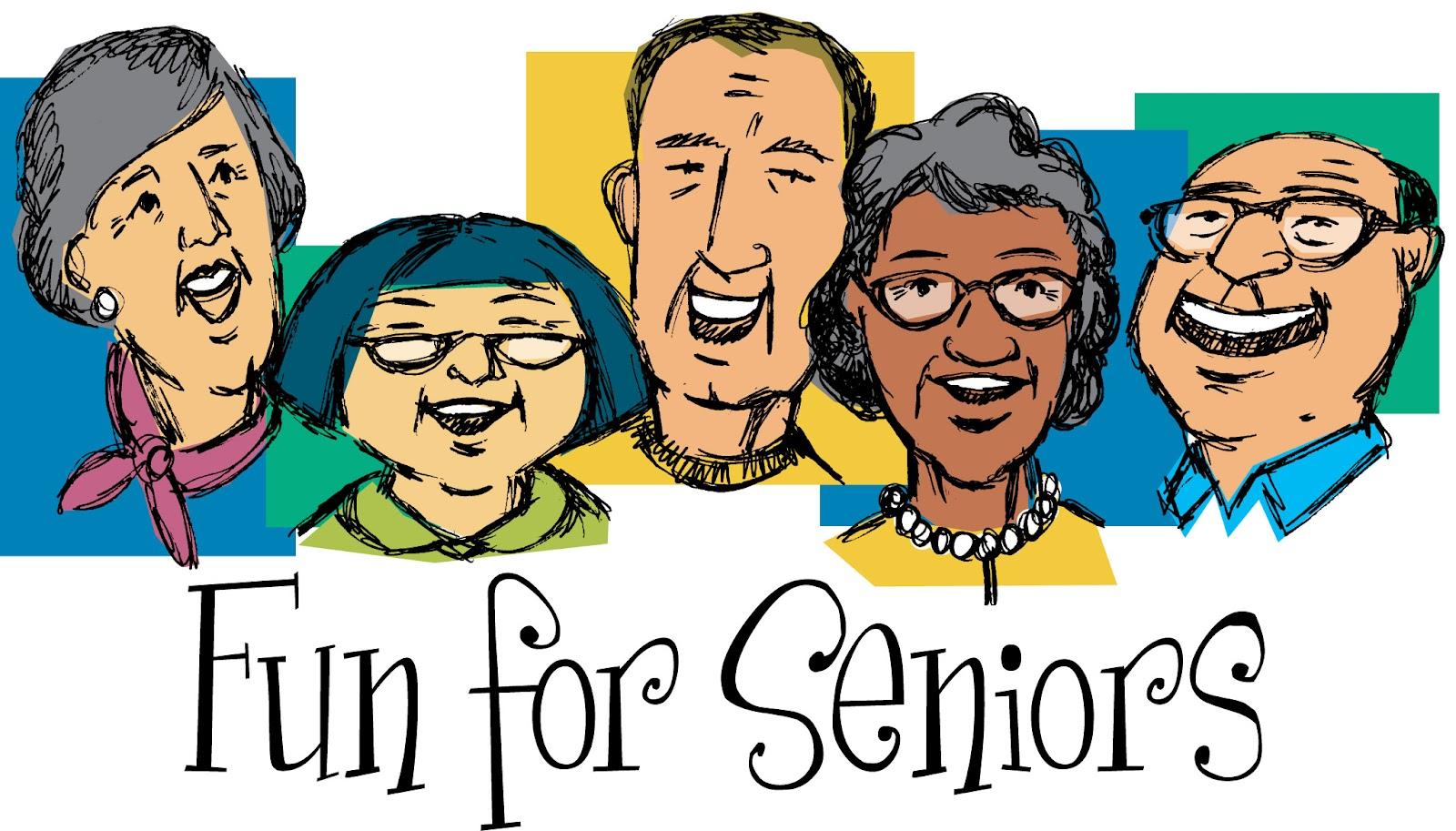 Senior Adult Activity Clipart.