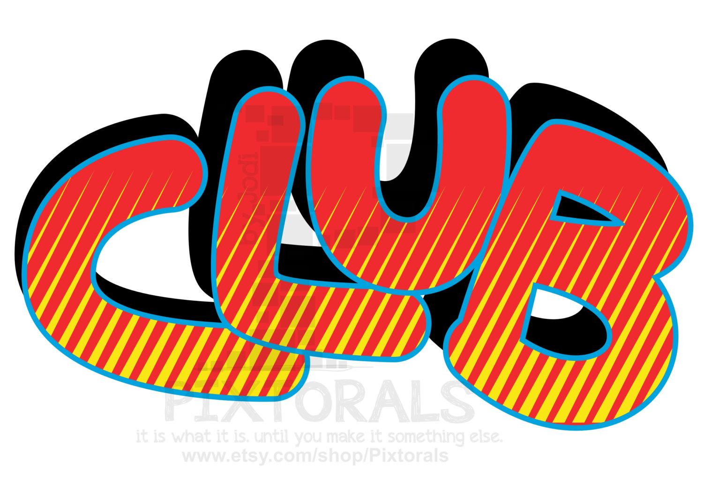 Club Clip Art.