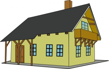 Club house clipart.