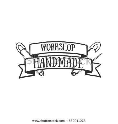 Set Vintage Retro Handmade Badges Labels Stock Vector 254892490.