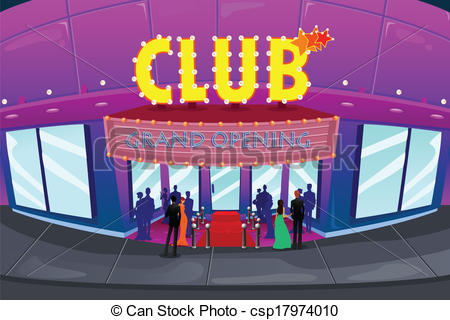 Night Club Clipart.
